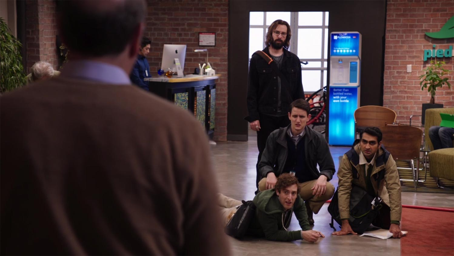 A Flowater hydration station as seen in the hit HBO show Silicon Valley.