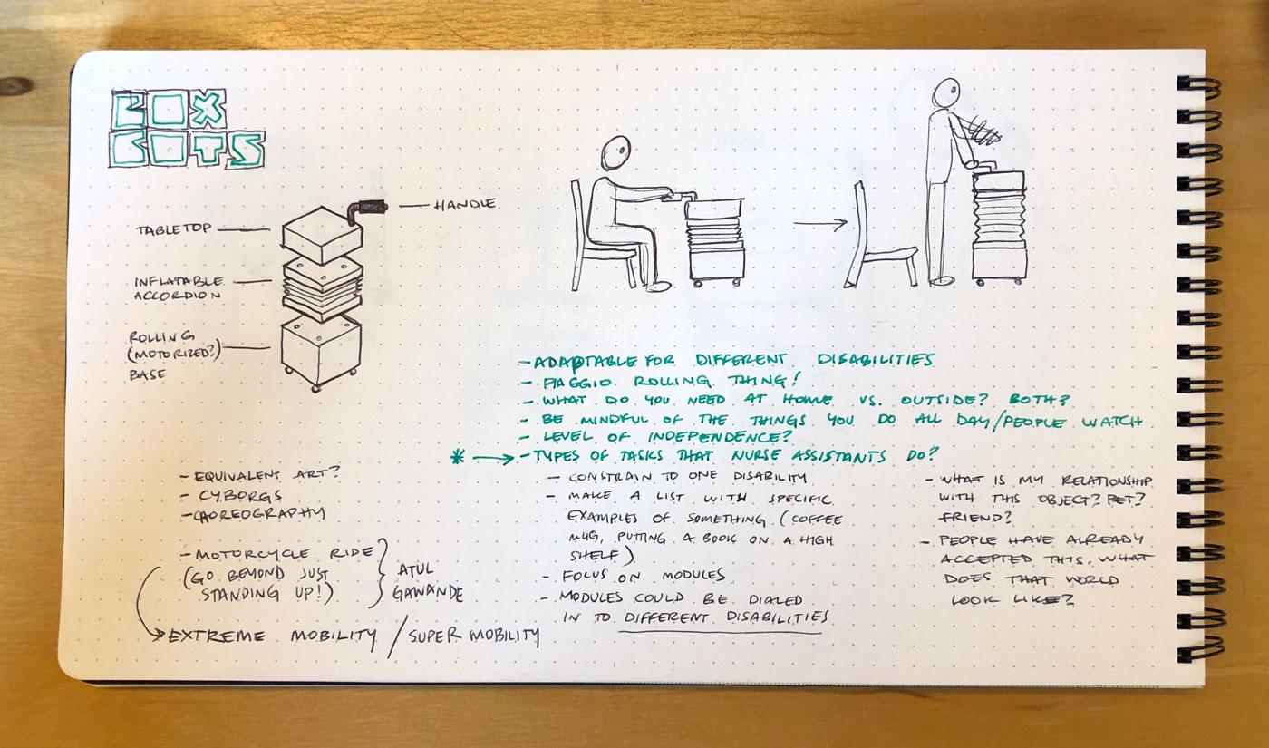 機器人家具-聲控咖啡桌